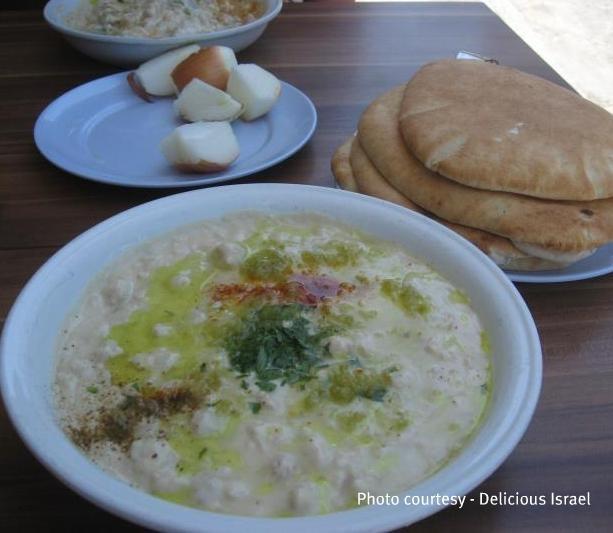 Best Hummus in Israel! #DeliciousIsrael