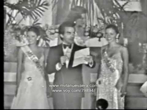ELLUZ PERAZA Y JUDITH CASTILLO, Miss Venezuela 1976.