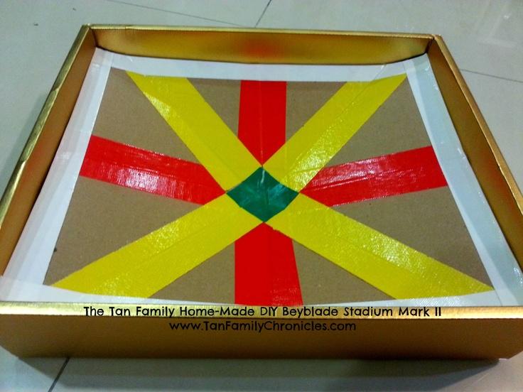 TAN FAMILY CHRONICLES: The Home-made DIY Beyblade Stadium