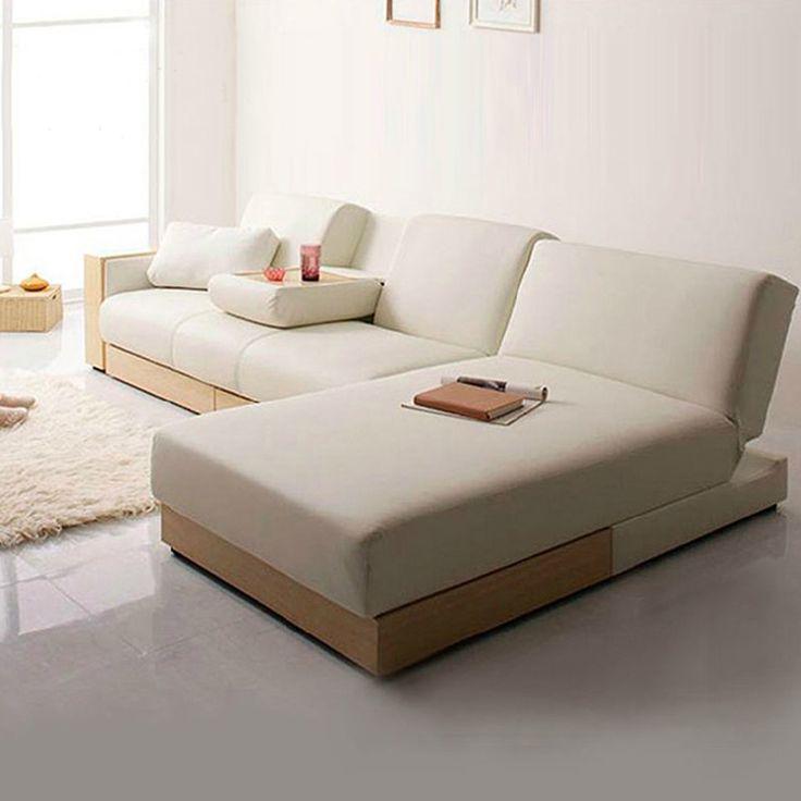 Die besten 25+ Folding sofa bed Ideen auf Pinterest Nachttisch - ecksofa kleines wohnzimmer