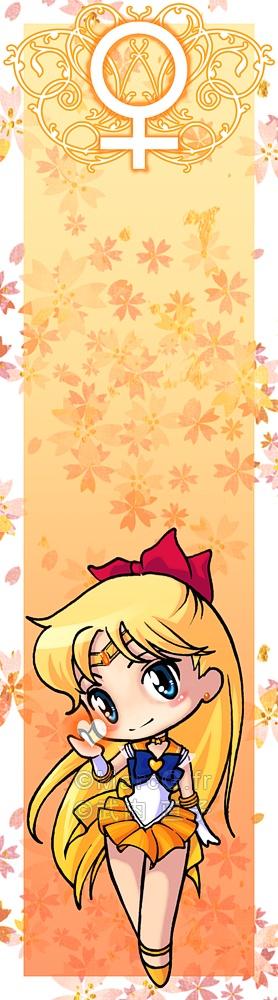 Sailor Venus bookmark by *Marc-G on deviantART