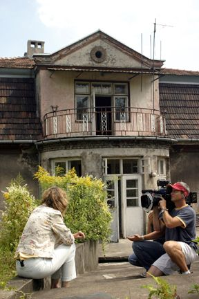 Photos of Amon Goeth's villa and his daughter Monika Göth
