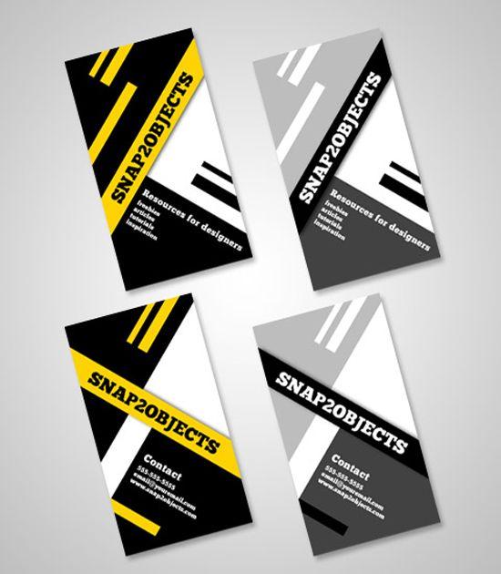 Business card template pack | template Photoshop PSD Kartu Nama Unik Menarik Cantik