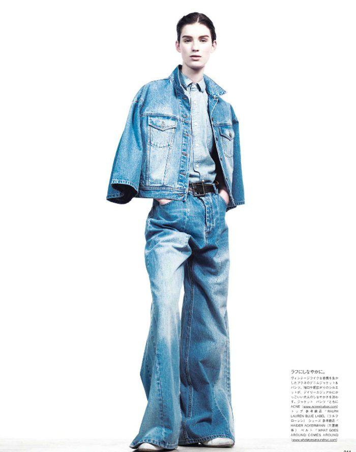 """Marte Mei van Haaster, Katryn Kruger & Victor Nylander by Willy Vanderperre for Vogue Nippon's """"A Simple Plan"""" (stylist: George Cortina)"""
