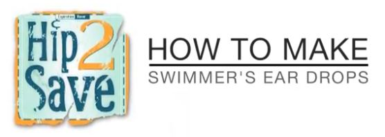 DIY Swimmer's Ear Drops