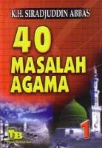 40 Masalah Agama Jilid 1
