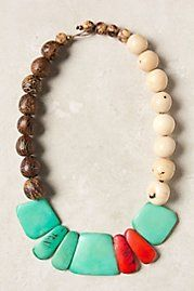Anthropologie Orinoco Necklace. Maybe a DIY project?