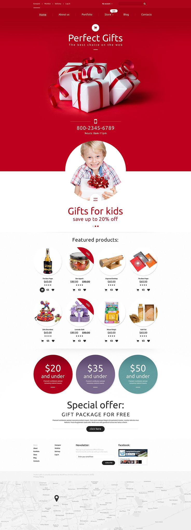 Gifts WooCommerce Theme