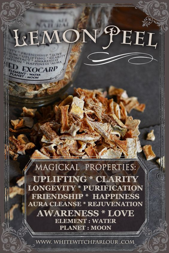 Magickal Properties of Lemon Peel | Witches Of The Craft®