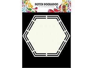 Dutch Doobadoo Holländische Kunst Format Sechseck A5
