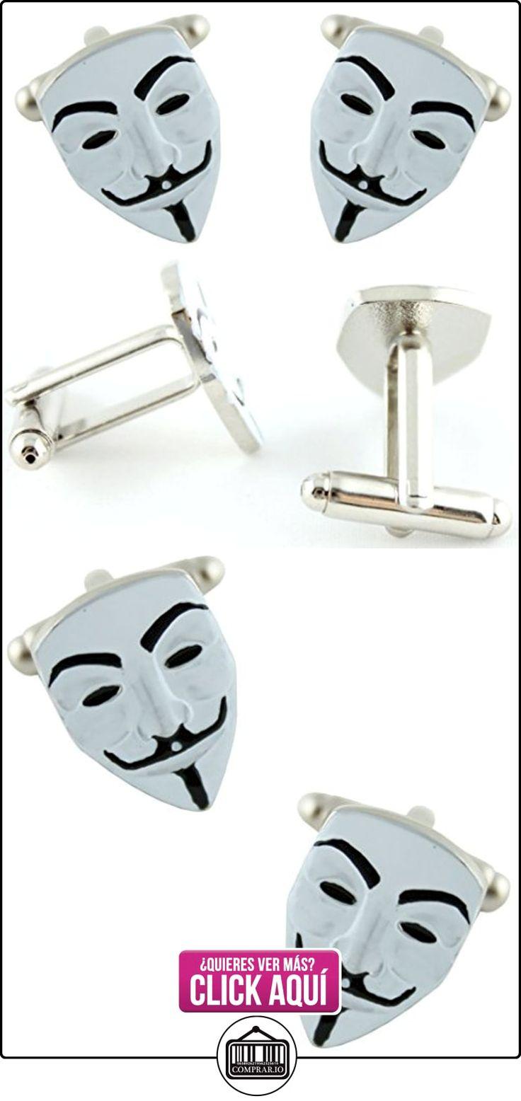 MasGemelos - Gemelos Máscara Anonymous Cufflinks  ✿ Joyas para niños - Regalos ✿ ▬► Ver oferta: https://comprar.io/goto/B01GBBOH7S