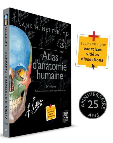 BU LILLE 1 Sciences de la Vie Franck Netter - Atlas d'anatomie humaine Cote 611 NET