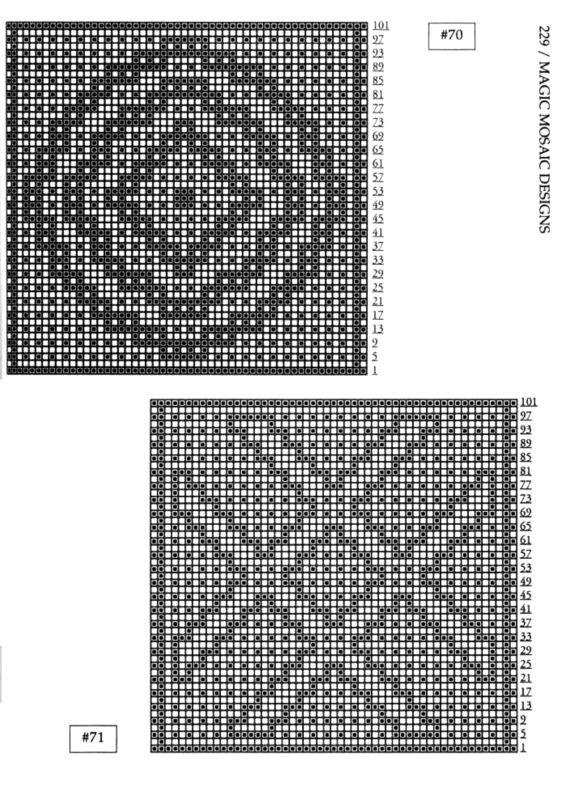 Mosaic Knitting Barbara G. Walker (Lenivii gakkard) Mosaic Knitting Barbara G. Walker (Lenivii gakkard) #234