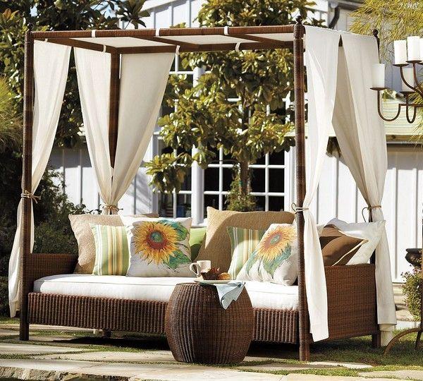 Outdoor Canopy Bed 23 best diy outdoor bed images on pinterest   outdoor beds
