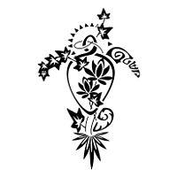 TATTOO TRIBES - Dai forma ai tuoi sogni, Tatuaggi con significato - tartaruga, twist, conchiglia, sole, edera, tiki, denti di squalo, unione, amore, famiglia, adattabilità, forza, fedeltà, tenacia