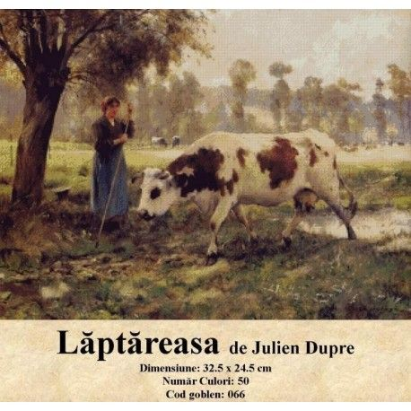 Vanzari set goblen Laptareasa de Julien Dupre http://set-goblen.ro/portrete/3716-laptareasa-de-julien-dupre.html