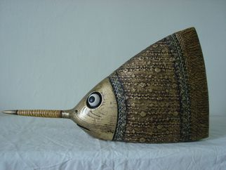 Bogdan Lachowicz Spear Gold Fish absolutearts.com