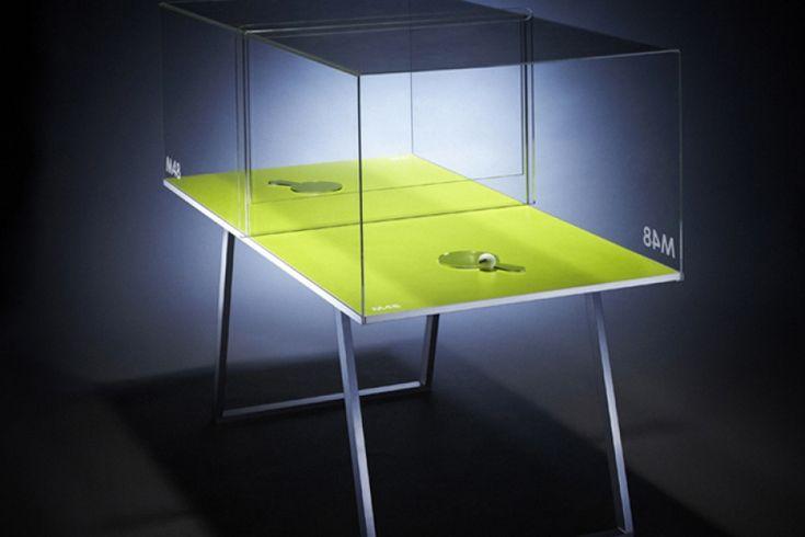Project M48 Ping-Pong: Cseh dizájnerek, Petr Mikošek és Štěpán Kuklík pingpong asztalok újraértelmezésével foglalatoskodtak az elmúlt hónapokban, ütős külsőket varázsolva az amúgy nagyszerű klasszikus játéknak. A teljes cikk még több cool fotóval >>> www.woohooo.hu/hobbi/sport/dizajnos-project-m48-ping-pong-asztal