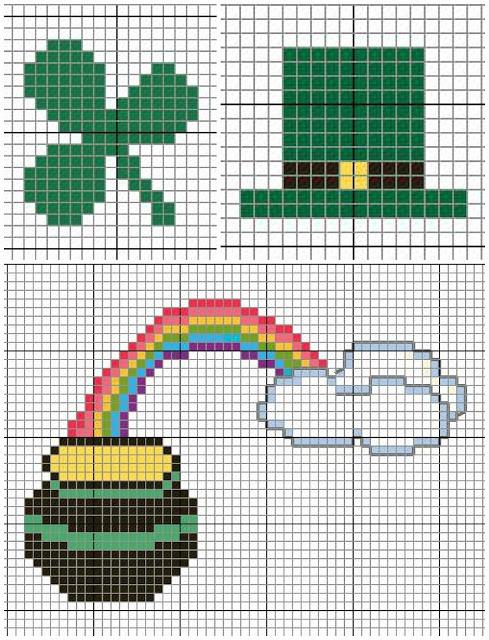 St. Patricks Day Cross Stitch Patterns