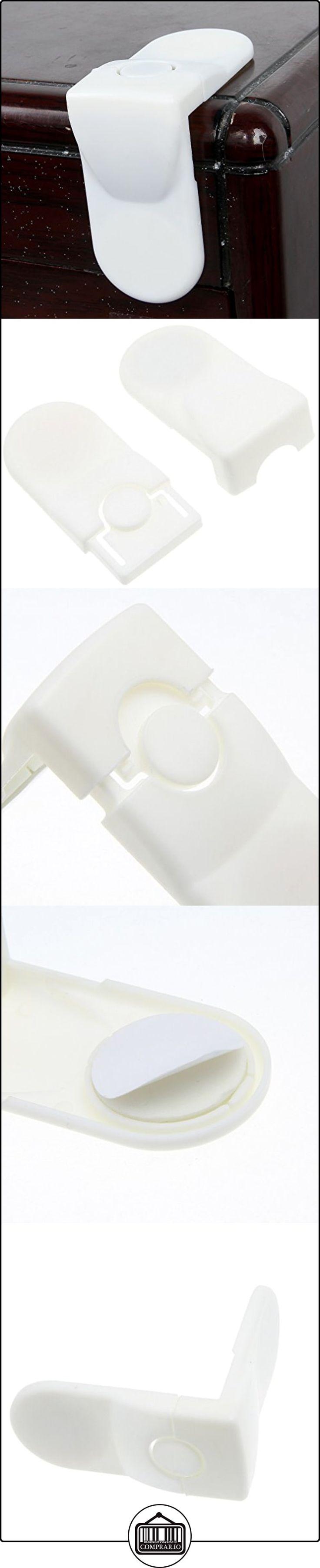 La vogue Blanco 10Pcs Cierres De Seguridad Esquina Para Armarios 85*80*40mm  ✿ Seguridad para tu bebé - (Protege a tus hijos) ✿ ▬► Ver oferta: http://comprar.io/goto/B00WVVM2G6