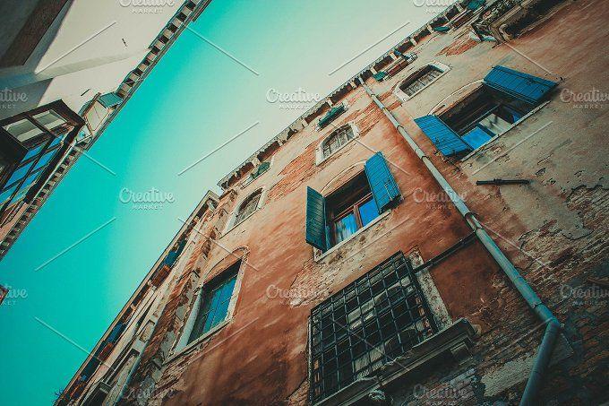 Architecture of Venice by BeardTravel on @creativemarket