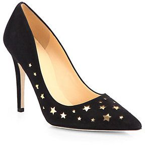 Kate Spade New York Lela Suede Star Cutout Pumps on shopstyle.com