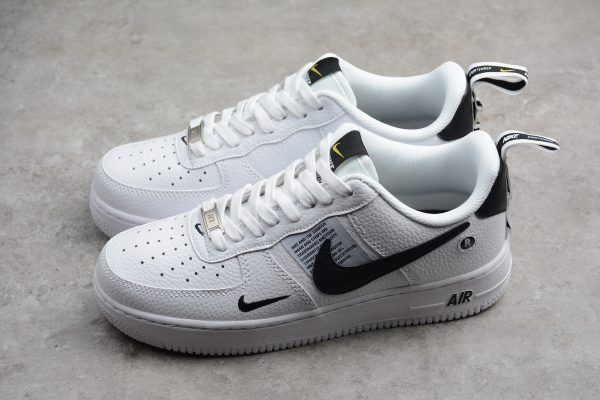 air force 1 07 low black white