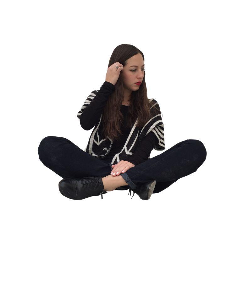 persona sentada