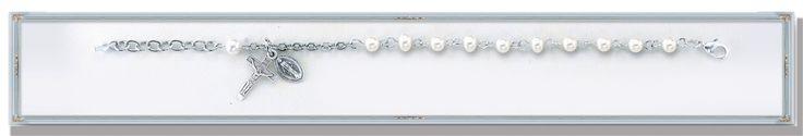 Freshwater Pearl Beads Rosary Bracelet-4MM