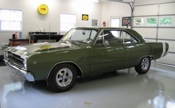 1968 Dodge Dart GTS   Finds of the Day   Pinterest   Dodge ...