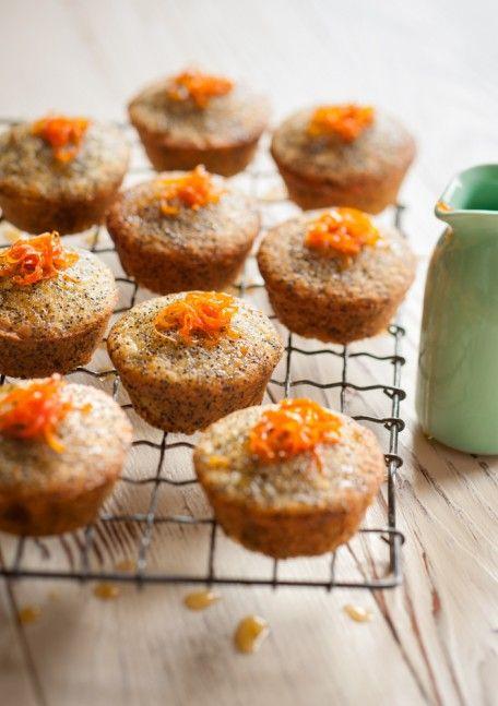 Sticky Mandarin, Almond & Poppyseed Cakes #adelaide #travel #market #adelaidemarket
