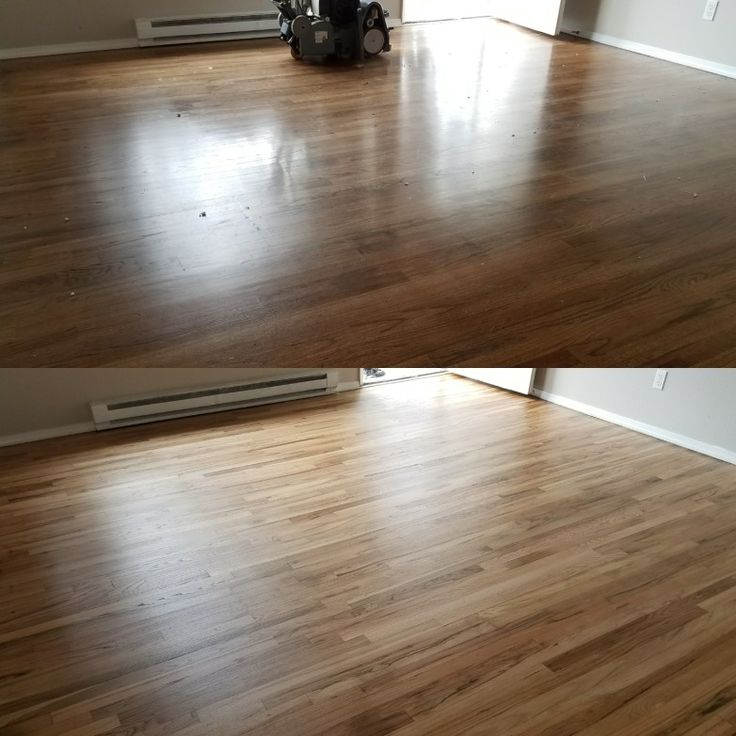 After a property management company removed carpet. They discoverd 2 1/4 Red Oak Hardwood throughout this duplex. With a limited budget they asked Mid Valley Hardwood LLC of Battle Ground, Wa 98604 To bring this floor back to life.