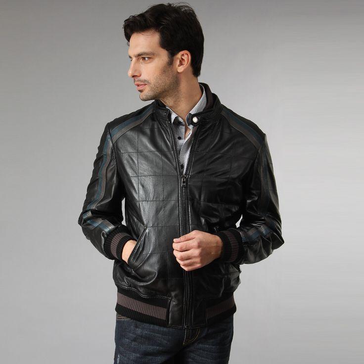 Factory-wholesale-men-s-genuine-leather-jacket-