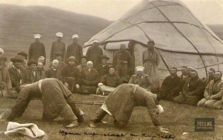 ПЕРЕТЯГИВАНИЕ КАНАТА. Кокандское ханство. Российская империя 1910 г.
