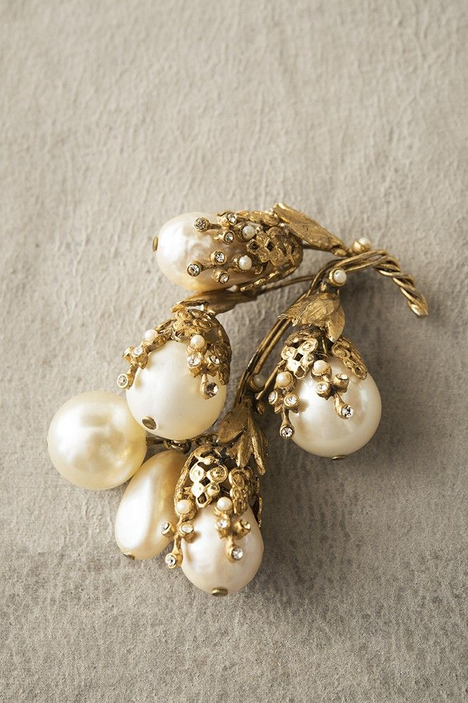 Vintage ‹ Ornella Bijoux brooch