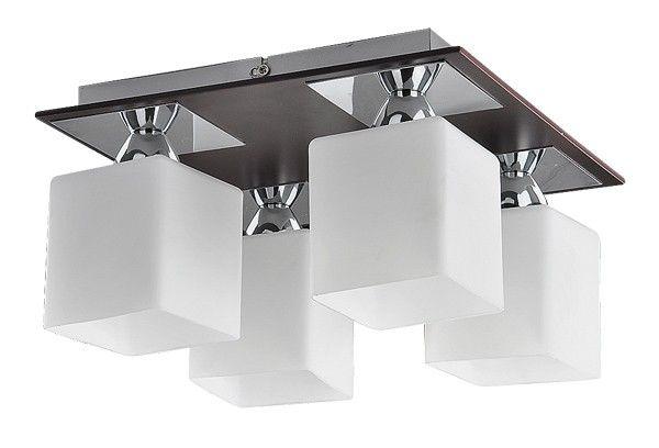 Modern és spot lámpák : Reda menny.lámpa E24 4x60W króm, wenge,