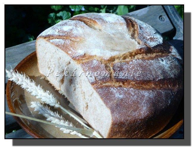 Tento podmáslový chleba se dá upéct jak v troubě (volně na plechu, bez formy, která by jej podržela), tak i v remosce – která si na jeho upečení vezme pouhou pětinu elektřiny, co potřebuje k upečení trouba.
