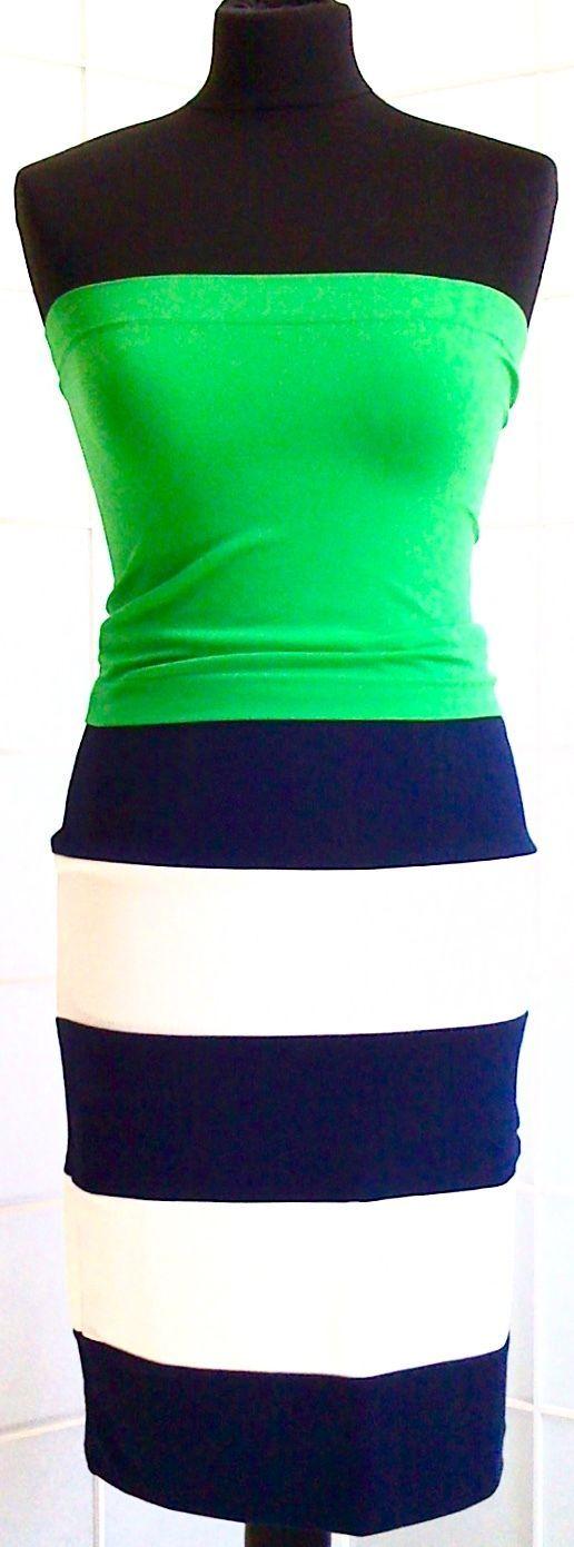 STRETCH - KLEID, 2-teilig, Stretchrock + Stretchbustier, Gr.36/38 in Kleidung & Accessoires, Damenmode, Kleider | eBay