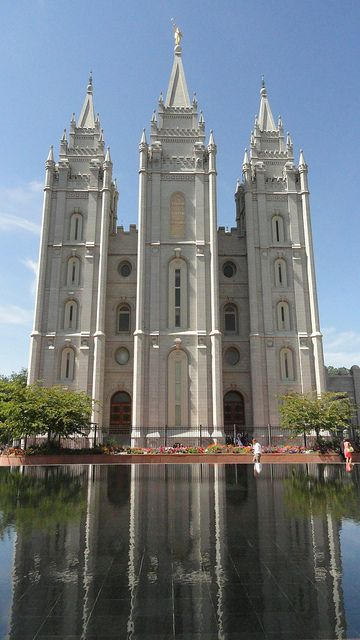 Mormon Temple - Salt Lake City, Utah