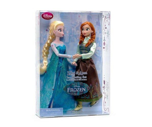 Dukker, FROST Anna & Elsa sjælden skøjte dukker