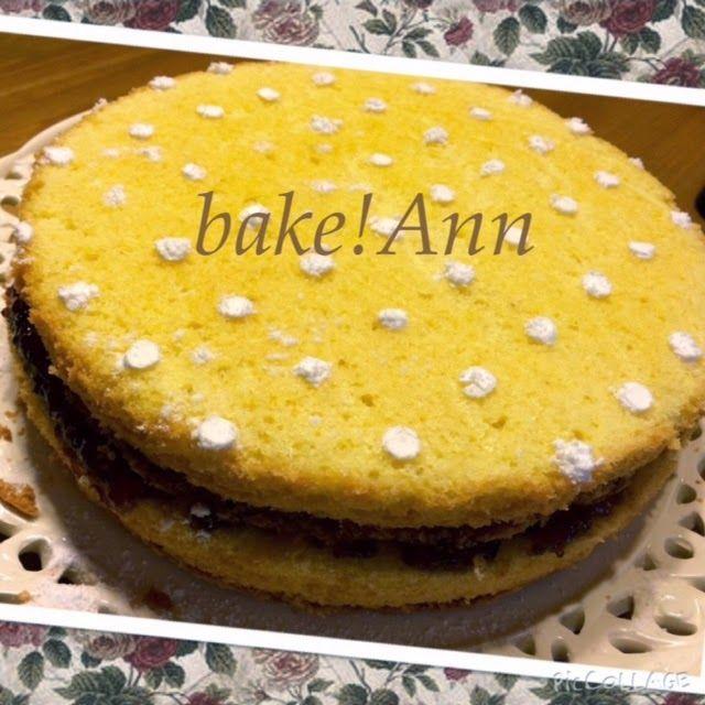 bake! Ann: Viktória torta Mary Berry szakácskönyvéből