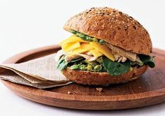 Key West Chicken-Avocado Sandwich- ditch your sandwich standby and pack a lunch with real flavor!