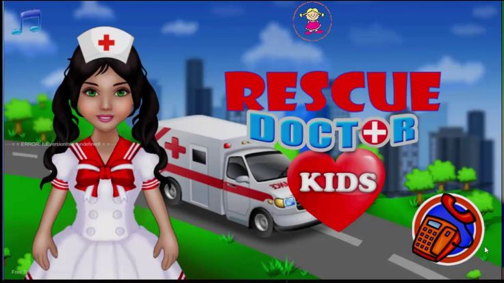 Rescue Doctor Emergency Doctor Game for Kids and Toddler