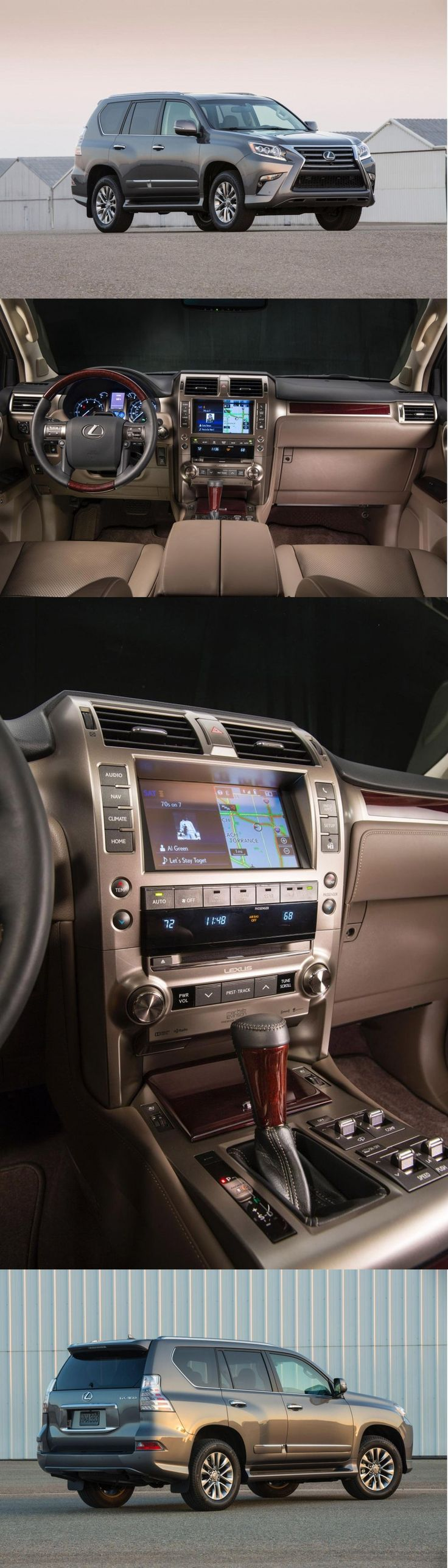 Lexus GX 460. All the bells and whistles.