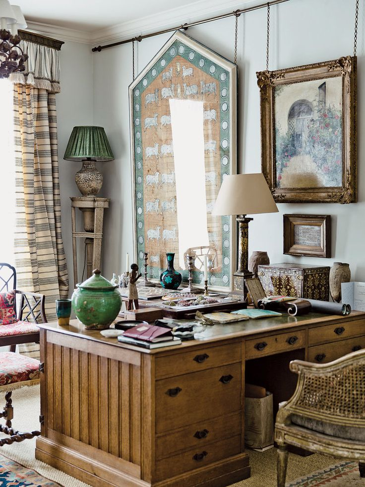 At Home and Away With the Decorator Robert Kime