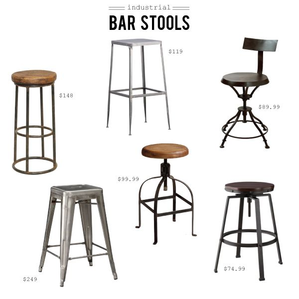 favorite industrial bar stools