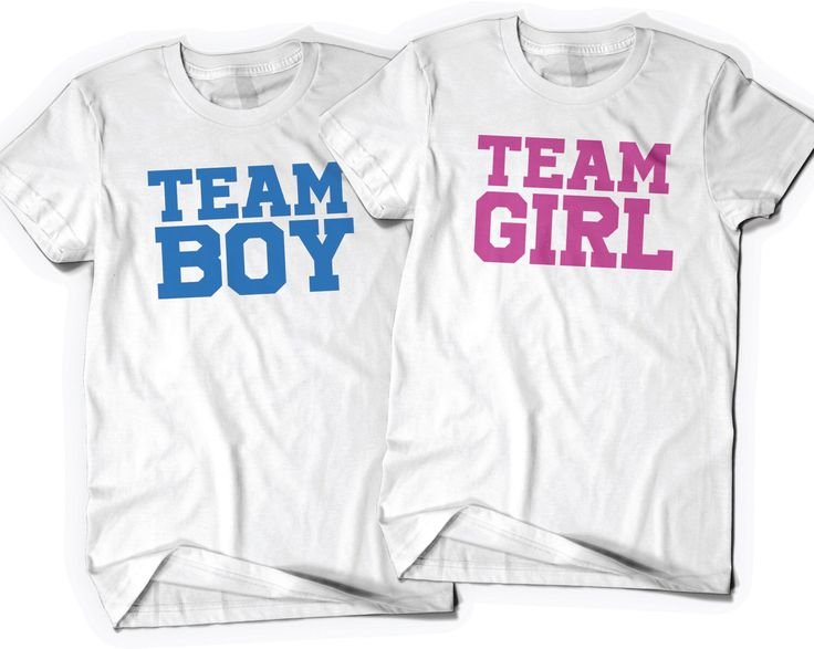 Team Boy Team Girl Gender Reveal Shirts T-shirts Tees Mommy Daddy to be Mom Dad Pregnancy Announcement Pregnant Baby Shower Gift Party Favor by BoooTees on Etsy https://www.etsy.com/listing/464342113/team-boy-team-girl-gender-reveal-shirts
