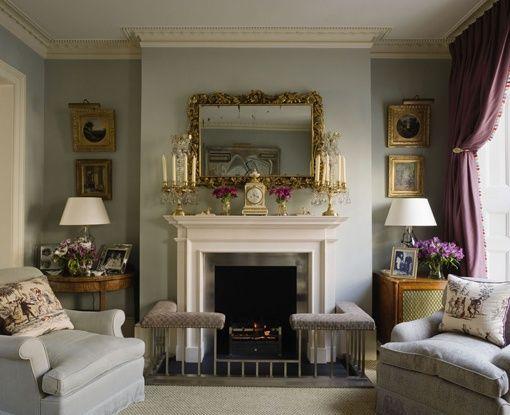 English sitting room - Jane Churchill design