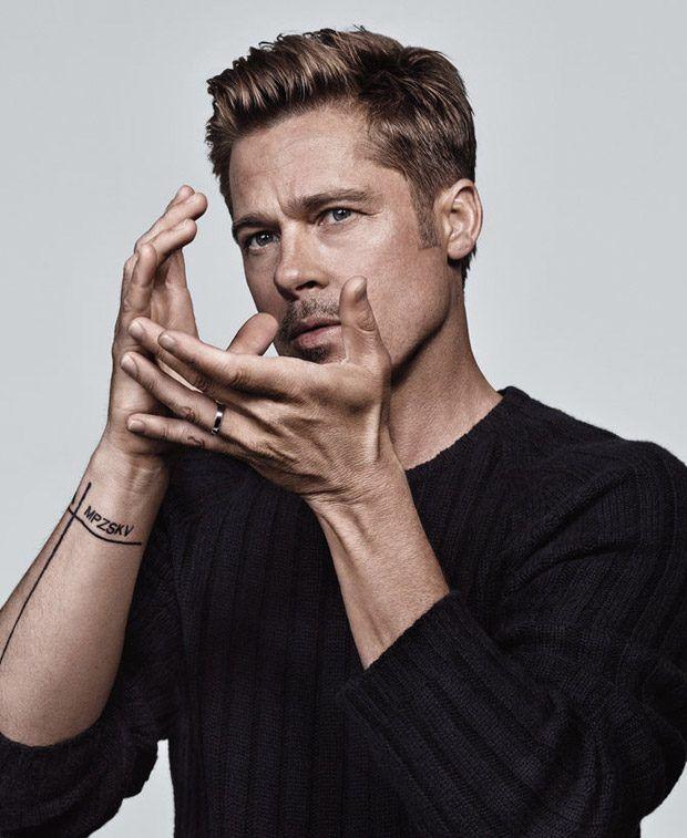 Brad Pitt Stars in NY Times T Style Men's Fashion Fall 2016 Cover Story