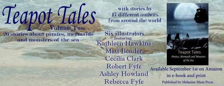 one of the promotional banners featuring some of the contributing authors and artists